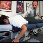 Doctor Bogash treating patient