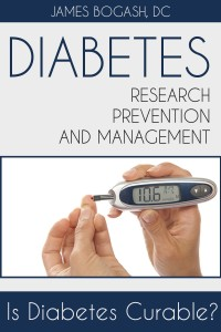 Diabetes Research, Prevention and Management: Is Diabetes Curable?